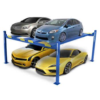 Garage car lift system cost 15