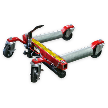 GoCart Hydraulic vehicle positioning jacks