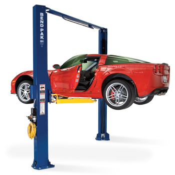 10000 Lb Car Lift >> BendPak XPR-10ACX Two Post Lift, 10,000 Lb. Capacity, Asymmetric, Wide