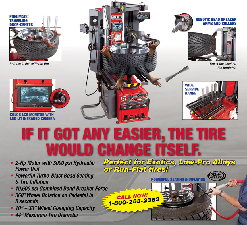 Get all the info on the RX3040 Tire Changer by clicking here!
